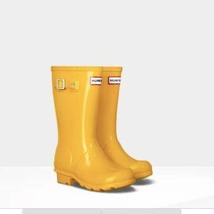 Hunter Wellies Yellow Rain 5G/4B Original Kid boot